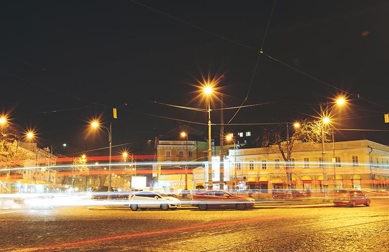 Світильники паркові та вуличні